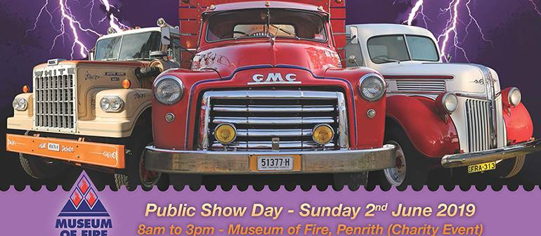 Penrith Truck Show June 2019